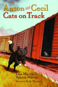 Anton and Cecil: Cats on Track by Lisa Martin