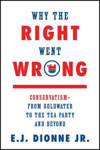 Why the Right Went Wrong by E.J. Dionne